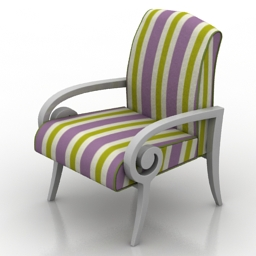Armchair Melita 3d model
