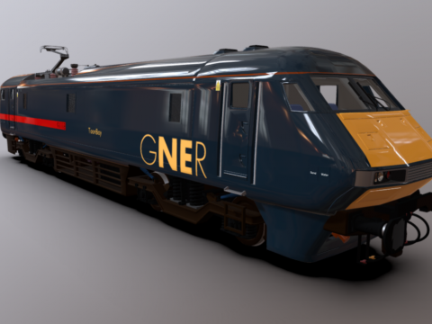 Class 91 Power Unit GNER Livery