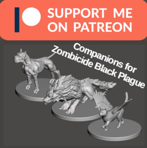 Companions for Zombicide Black Plague