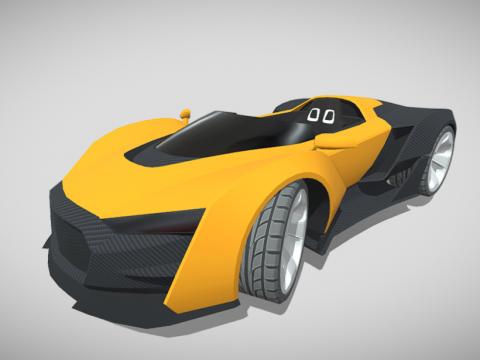 Concept sportscar
