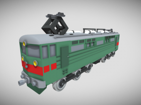 Electric locomotive VL60