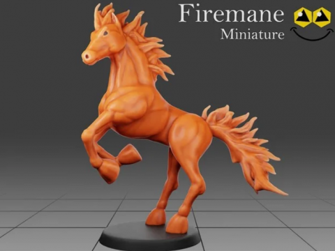 Firemane- Tabletop Miniature