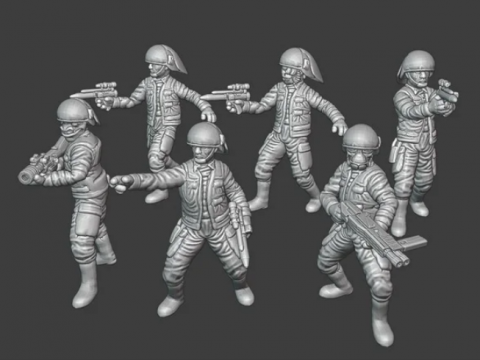 Fleet Troopers (star wars legion scale)