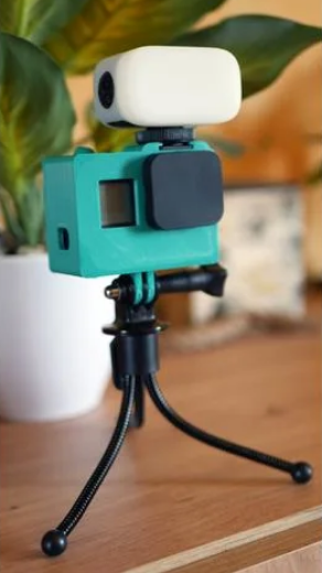 GoPro Hero 7 case with Flash shoe