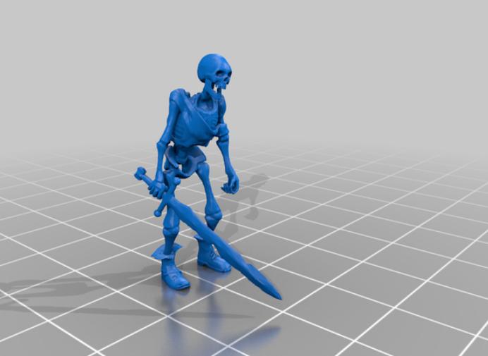 Skeletons - DnD monster - sword