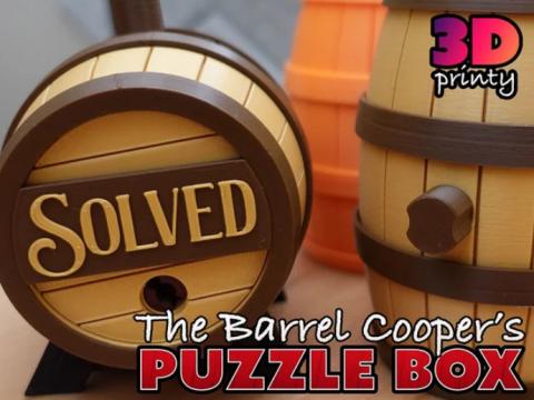 The Barrel Cooper's Puzzle Box (Difficult!)