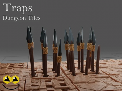 Traps - Dungeon Tiles