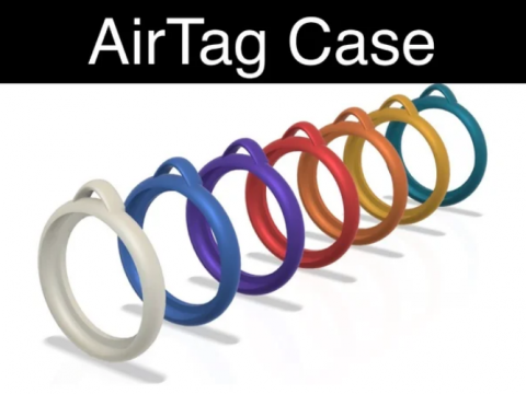 AirTag Case Keyring holder