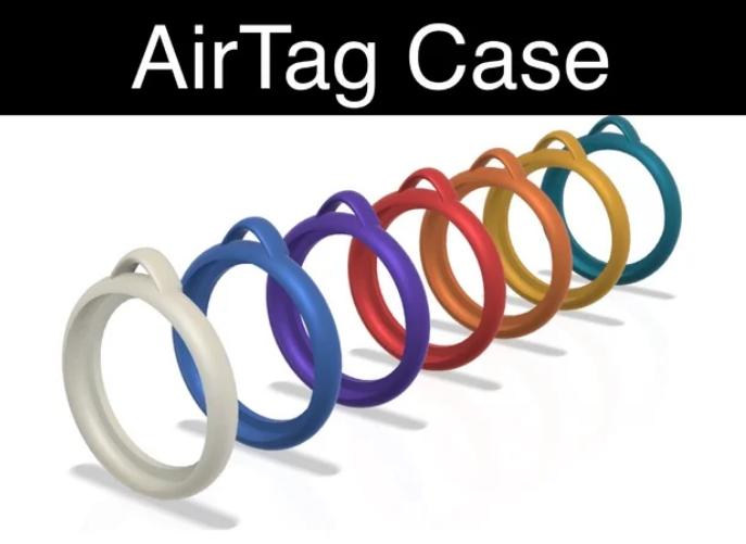 AirTag Case Keyring holder