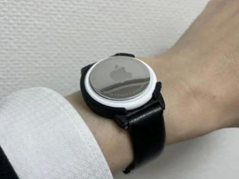 AirTag watch case