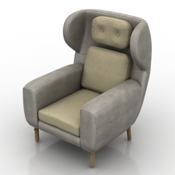 Armchair AYO Sessel 3d model