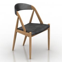 Chair Danish 3d model