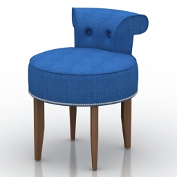 Chair Homemotions Monaco 3d model