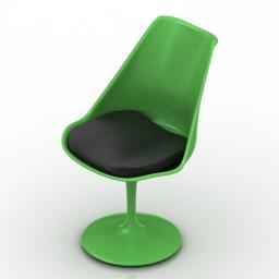 Chair Tulip 3d model