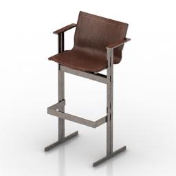 Chair bar Kolb 3d model