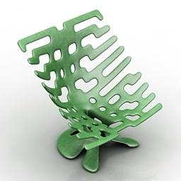 Chair plastic 3d model