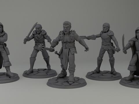 Defence of Phlan miniature set (1mission)