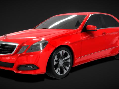 MBZ E250 VR dae Collada