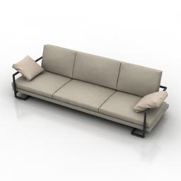 Sofa Metropoly 3d model