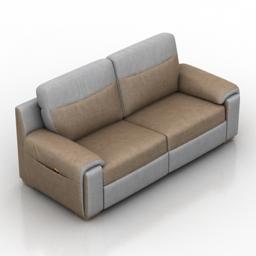 Sofa Venera Classic 3d model