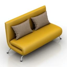 Sofa mini 3d model