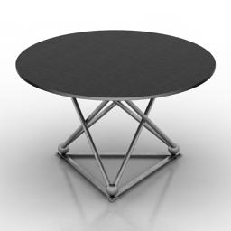 Table Eichholtz PEBBLE BEACH 3d model