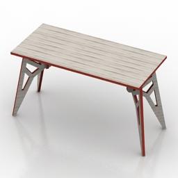 Table Gooddesign butterfly 3d model