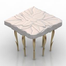Table JCPassion Flower 3d model