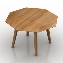 Table Knoll Riso 3d model