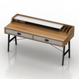 Table Odion Desk 3d model