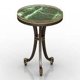 Table Taillardat Sefert EMILIE 3d model
