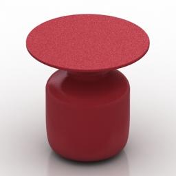 Table coffee Cappellini Mini Bottle 3d model
