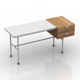 Table hitech desk 3d model