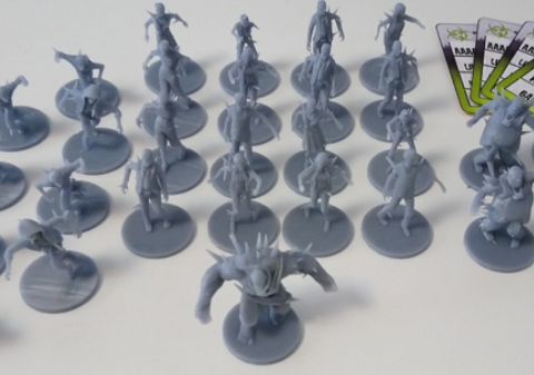 Toxic Zombies for Zombicide