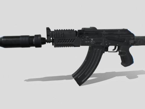 AKSU-74 game ready