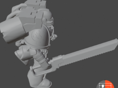 Assault Space Soldiers - Squad 7 updated with new weapons