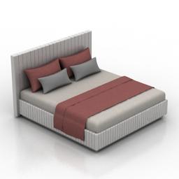Bed Classic LH 3d model