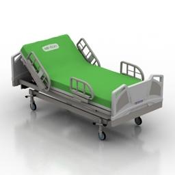 Bed Hill-Rom Medical 3d model