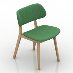 Chair Calligaris CLAIRE 3d model