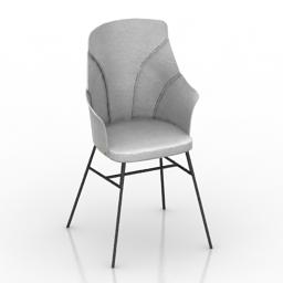 Chair Farg & Blanche BESPOKE 3d model