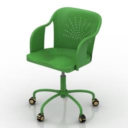 Chair IKEA Roberget 3d model