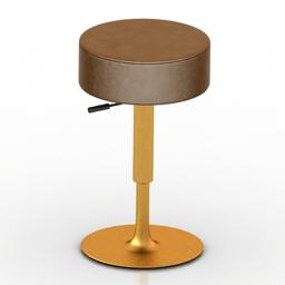 Chair bar SIGNAL 3d model