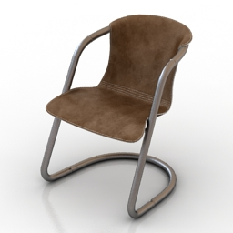 Chair industrial style 3d model