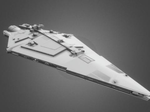 Desolator Class Cruiser - Star Wars Inspired