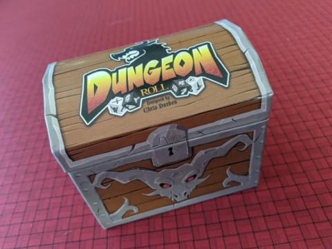 Dungeon Roll Board Game Box Insert Organizer