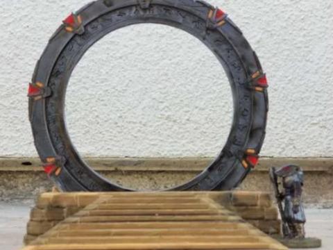 FIXED Stone Base For 28mm Stargate