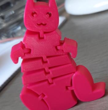 Flexi fat stupid cat