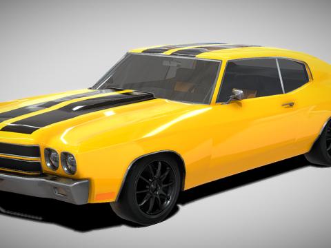GT Muscle Car