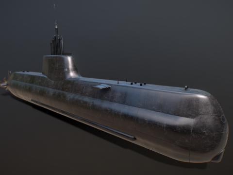 Korea Navy -Son Won il- Class(Type214) Submarine