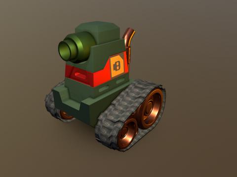 Mini harmless tank slug